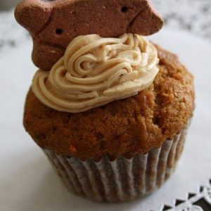 Delicious Pup Cakes – 6 Pupcakes, Peanut Butter, Banana & Carrot